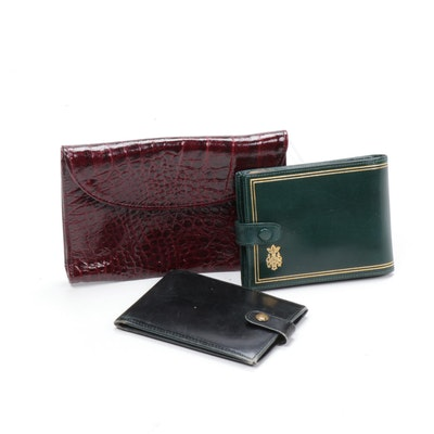 Italian Leather Wallets, Vintage