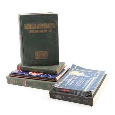 Automotive Manuals and Catalogs including Chilton's