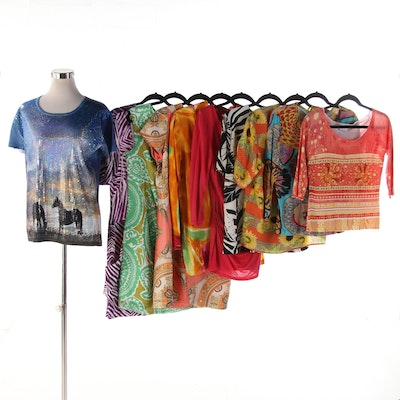 BCBG Max Azria, Julian Taylor, Hilo Hattie, LouLou with Other Dresses and Tops