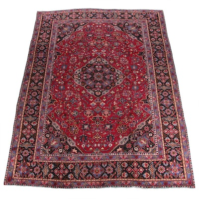 9'6 x 12'10 Hand-Knotted Northwest Persian Wool Area Rug