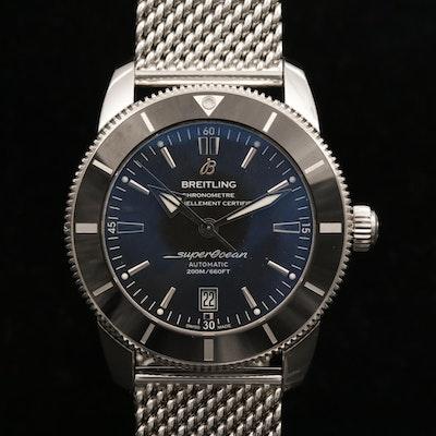Breitling Superocean Heritage II 46 Automatic Stainless Steel Wristwatch, 2018