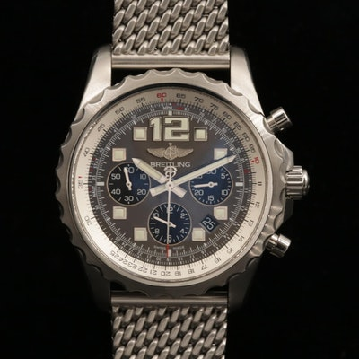 Breitling Chronospace Automatic 46mm Stainless Steel Wristwatch, 2013