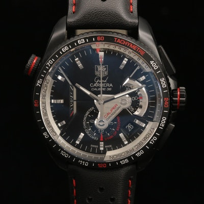 TAG Heuer Grand Carrera Calibre 36RS Automatic Chronograph Wristwatch