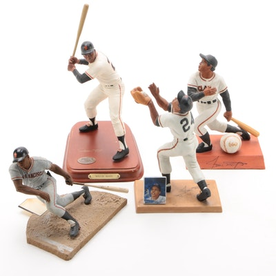 Willie Mays Giants Action Figures and Statues Including Sports Impressions