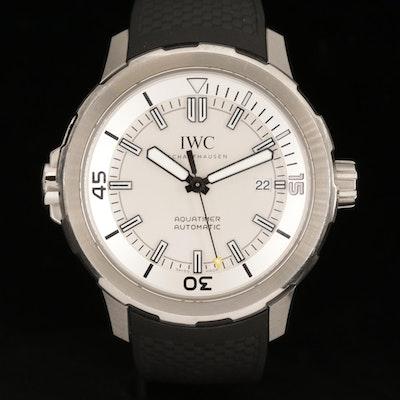IWC International Watch Co. Aquatimer Automatic 44mm Stainless Steel Wristwatch