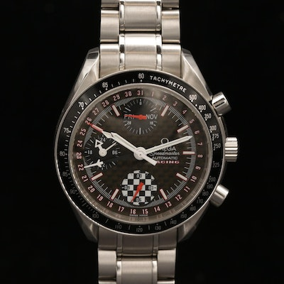Omega Speedmaster Day-Date Racing Michael Schumacher Edition Wristwatch