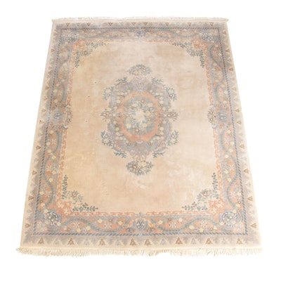 7'10 x 10'3 Pande Cameron Hand-Knotted Chindia Wool Area Rug