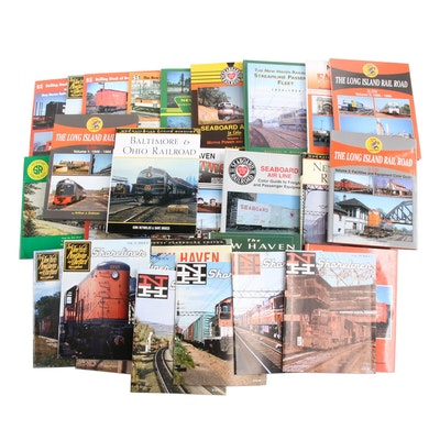 B & O, New Haven, Long Island Railroad Book and Periodical Collection