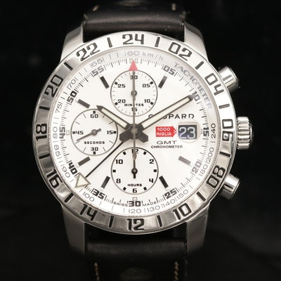 Chopard Mille Miglia GMT Stainless Steel Automatic Chronograph Wristwatch