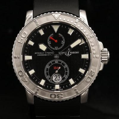 Ulysse Nardin Maxi Marine Diver Automatic Wristwatch