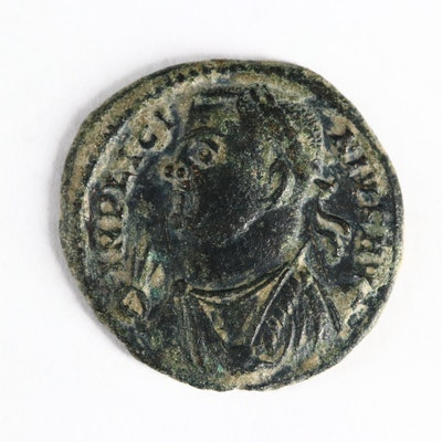 Ancient Roman Imperial AE3 of Licinius, ca. 317 A.D.
