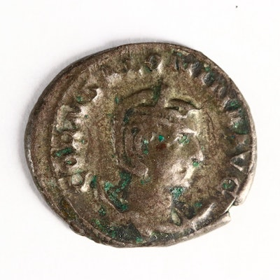 Ancient Roman Imperial AR Antoninianus of Salonina, ca. 267 A.D.