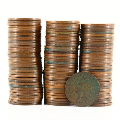 103 Indian Head Cents