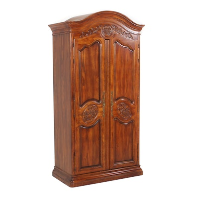 Romweber Oak Entertainment Armoire