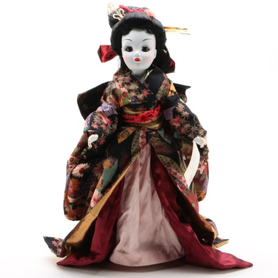 "21"" Madame Alexander ""Madame Butterfly"" Portrait Doll, Limited Edition, 1997"