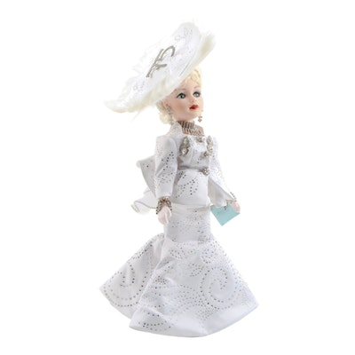 "21"" Madame ""Diamond Beauty"" 75th Anniversary Doll, Limited Edition, 1998 Alexan"