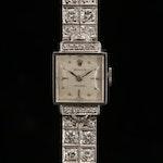 Rolex 18K and 14K Gold 7.39 CTW Diamond Wristwatch, Circa 1950
