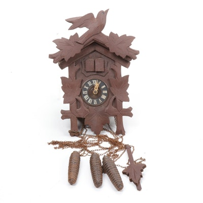 West German Regula Cuckoo Clock, 1963