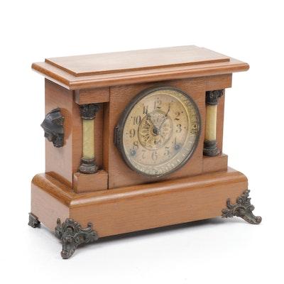 Seth Thomas Empire Style Mantel Clock, Late 19th/Early 20th Century