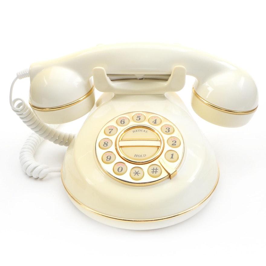 """Vintage """"Natalie"""" Push Button Phone"""