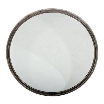 Restoration Hardware Metal Rivet Mirror, Contemporary
