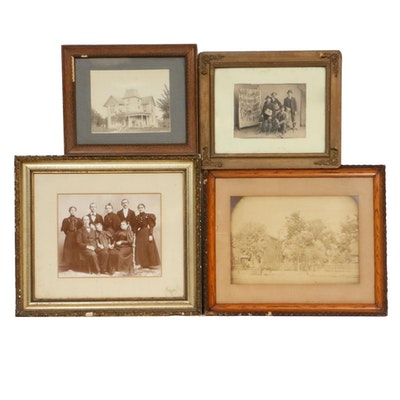 Family and Other Portrait Photographs, Late 19th Century