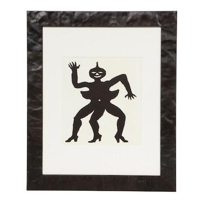 """Alexander Calder Lithograph for """"Derrière le Miroir,"""" 1975"""