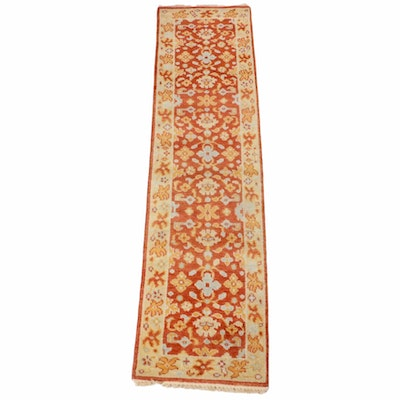 2'2 x 8'6 Hand-Knotted Indo-Persian Heriz Runner