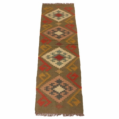 2'6 x 8'4 Handwoven Turkish Kilim Runner
