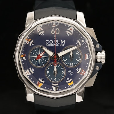 Corum Admiral's Cup Challenge Automatic Chronograph Wristwatch