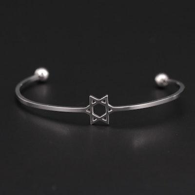 Star of David Cuff Bracelet