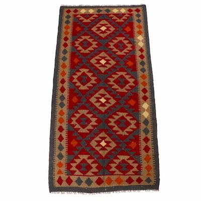 3'3 x 6'8 Handwoven Afghani Kilim Rug