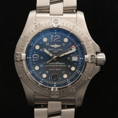Breitling Superocean Steelfish Automatic Stainless Steel Wristwatch, Circa 2007