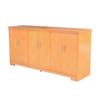 Large Birch Cabinet, 21st Century
