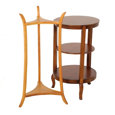 Tiered Wooden Plant Stands