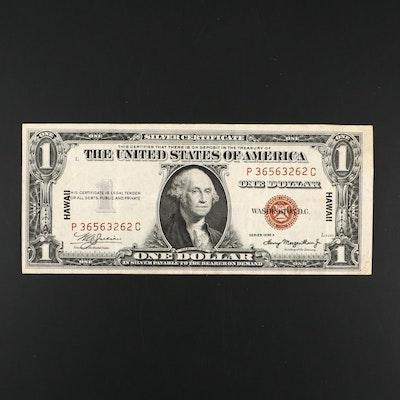 "Series of 1935 A ""Hawaii"" $1 Julian/ Morgenthau Silver Certificate"