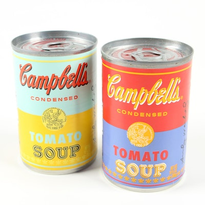 Campbell's Andy Warhol Commemorative Soup Cans