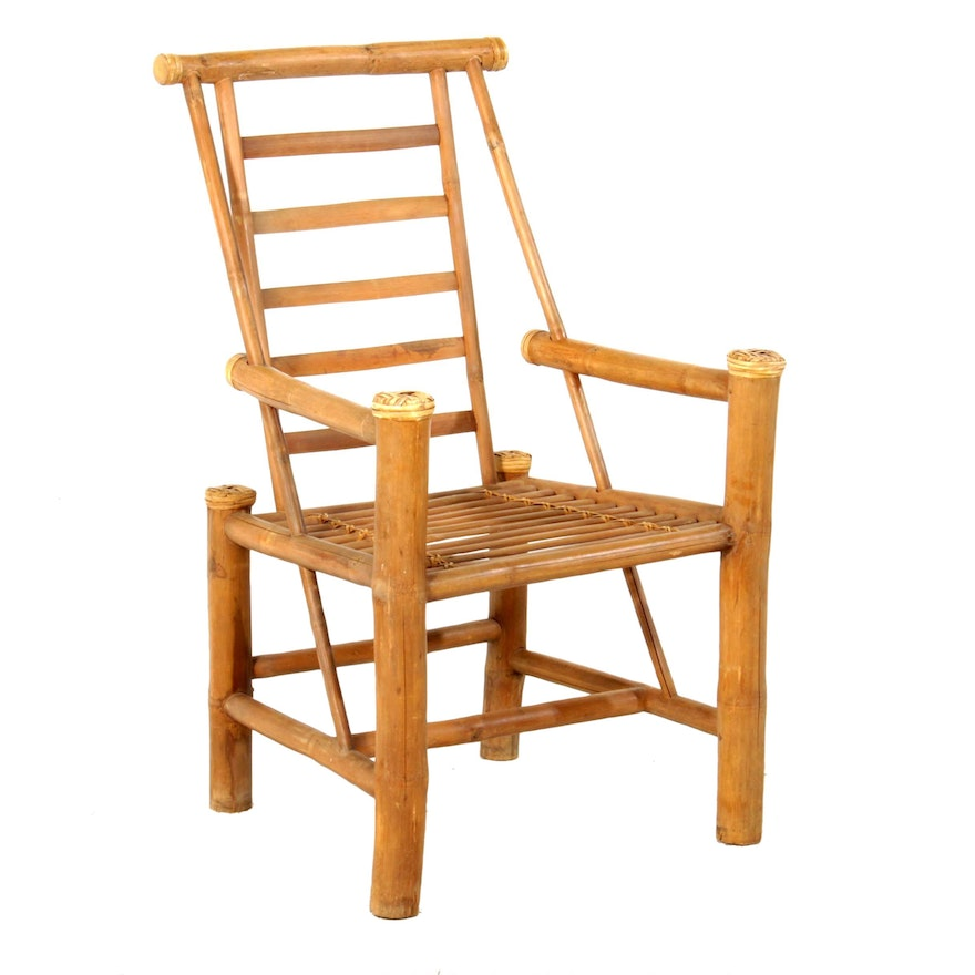 Hand Crafted Bamboo Pole Chair