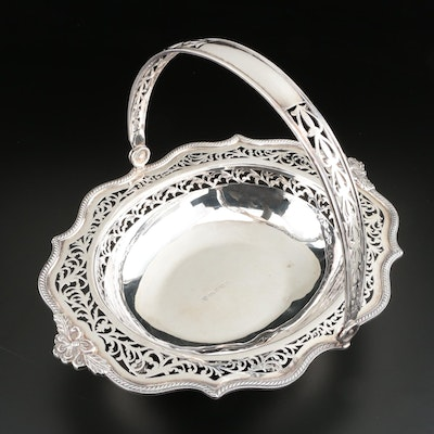 C. J. Vander of Sheffield Pierced Sterling Silver Basket, 1999