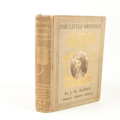 "1898 Signed Limited Edition ""The Little Minister"" with Souvenir Booklet"