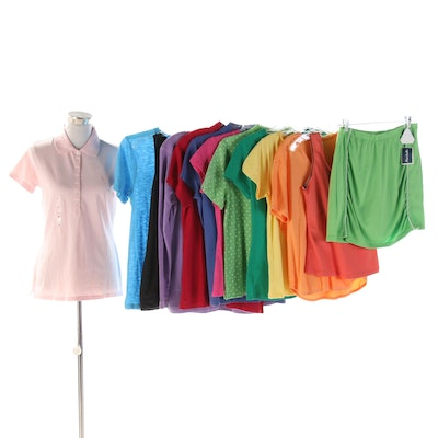 Champion, Tommy Hilfiger, Izod, Hanes, Blue Lemon and Other Active Clothing