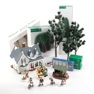 """Department 56 """"Heritage and Snow Village"""" Tabletop Figurines and Décor"""