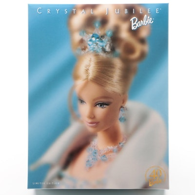 """Crystal Jubilee"" Barbie Doll, Limited Edition with Original Box, 1998"
