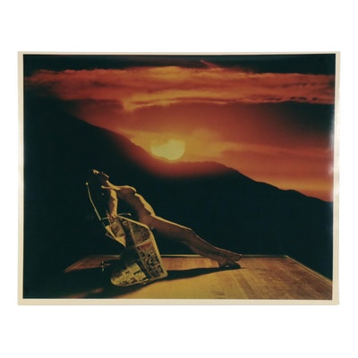 "Don Jim Cibachrome Photograph ""Sunglow"""