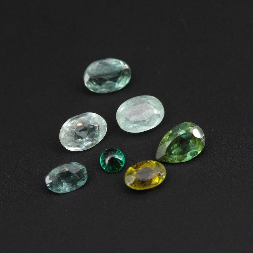 Loose 4.66 CTW Tourmaline Gemstones