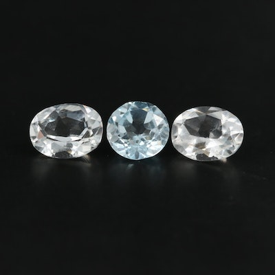 Loose 4.07 CTW Topaz Gemstones