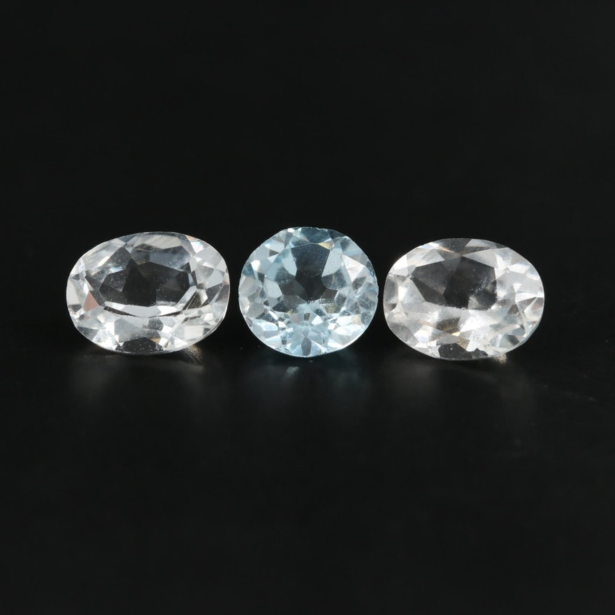 Loose 4.07 CTW Topaz Gemstones