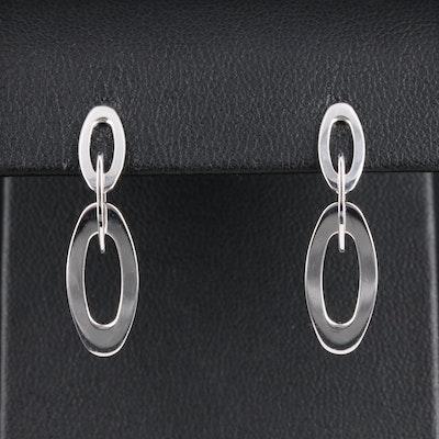 Roberto Coin 18K White Gold Dangle Earrings