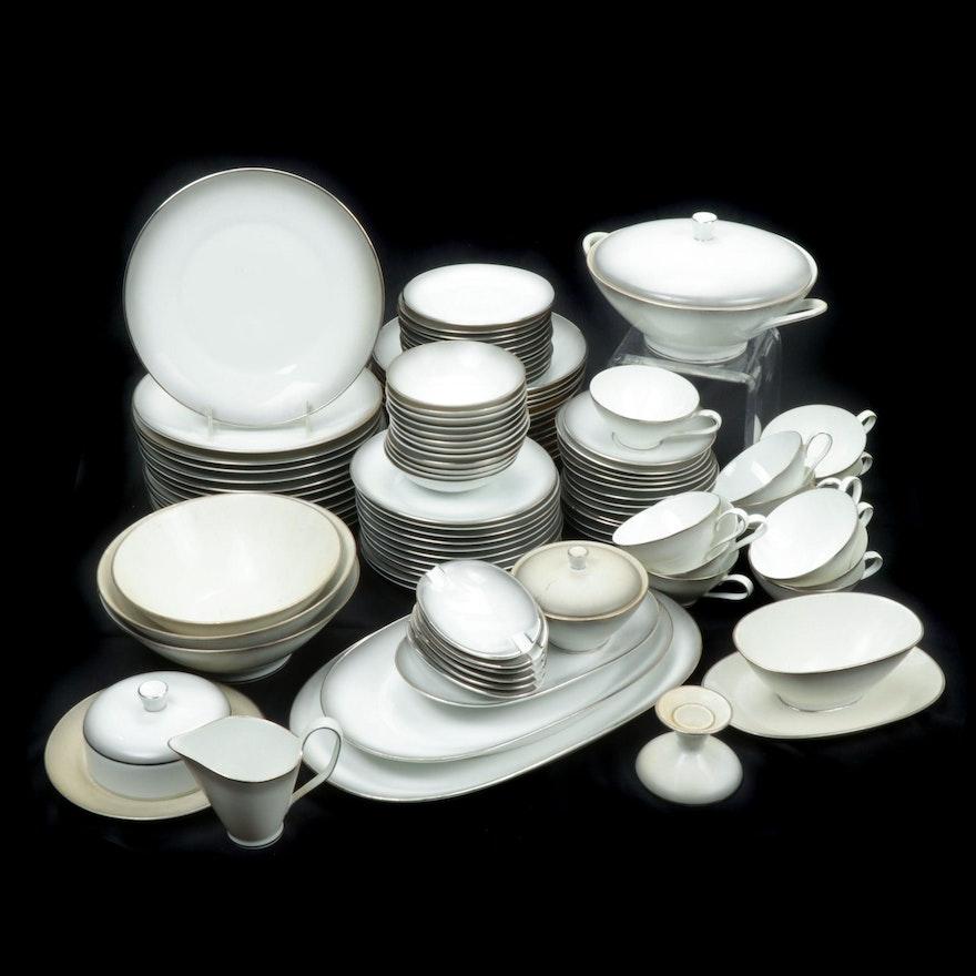 "Rosenthal ""Elegance"" Porcelain Dinnerware, Mid-20th Century"