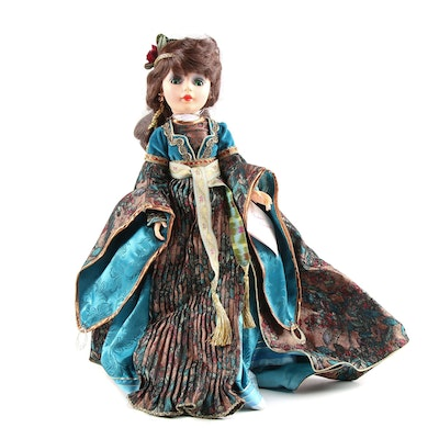 "21"" Madame Alexander ""Maid Marion"" Vinyl Portrait Doll with Original Box, 1992"